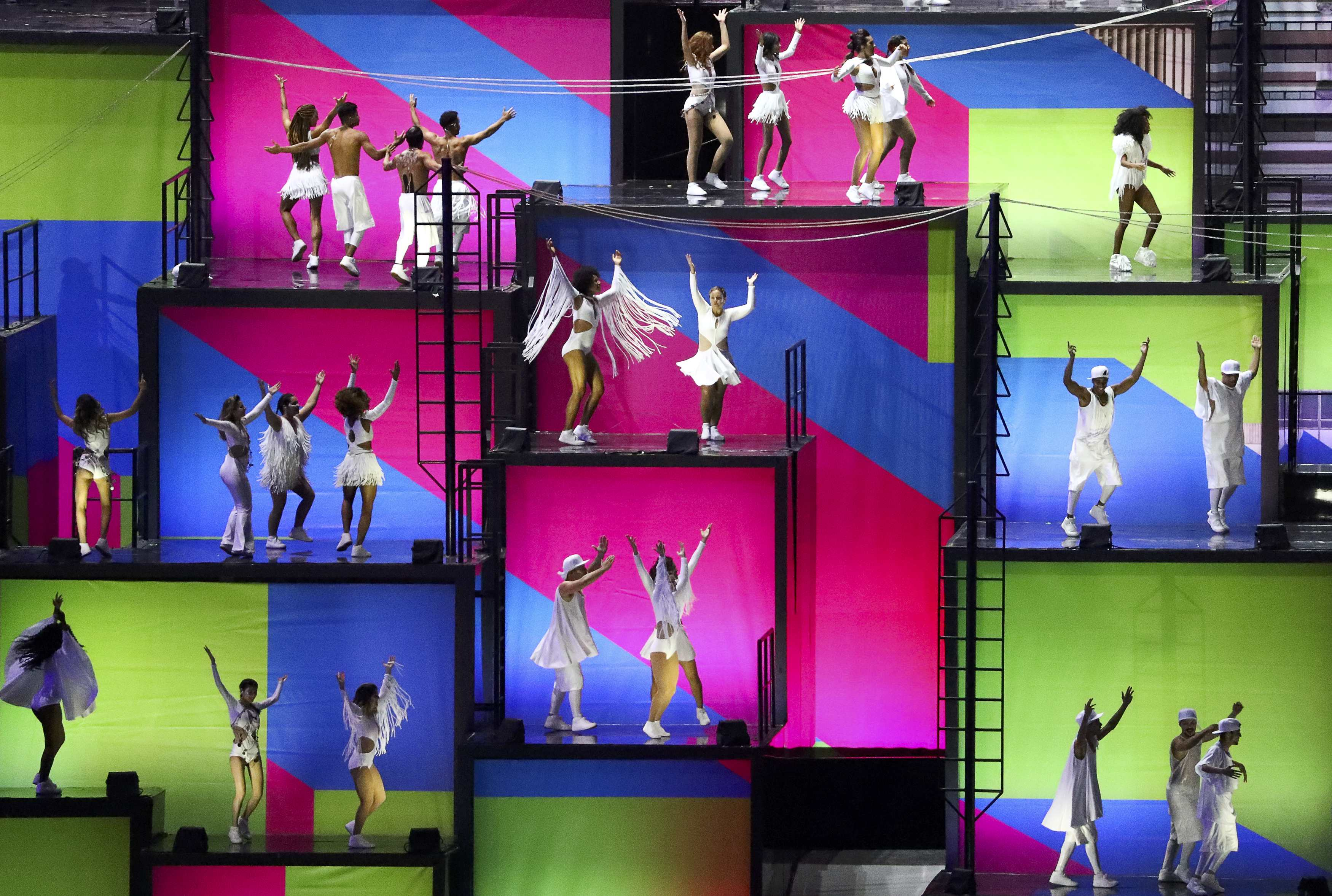2016 Rio Olympics - Opening Ceremony - Maracana - Rio de Janeiro, Brazil - 05/08/2016. Performers take part in the opening ceremony.       REUTERS/Lucy Nicholson   FOR EDITORIAL USE ONLY. NOT FOR SALE FOR MARKETING OR ADVERTISING CAMPAIGNS.