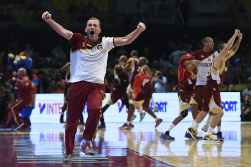 MEXICO CITY, MEXICO - September 9, 2015- Canada vs Venezuela during the 2015 FIBA Americas Championship at the Palacio de los Deportes. (photo: Etzel Espinosa/Imago7/FIBA Americas)